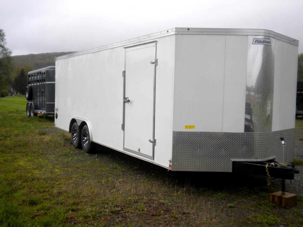 2019 Haulmark Transport 8 1/2 X 24 V NOSE WITH RAMP   10K