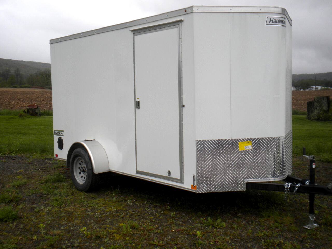 2019 Haulmark Transport 6X12 V NOSE WITH RAMP   3K