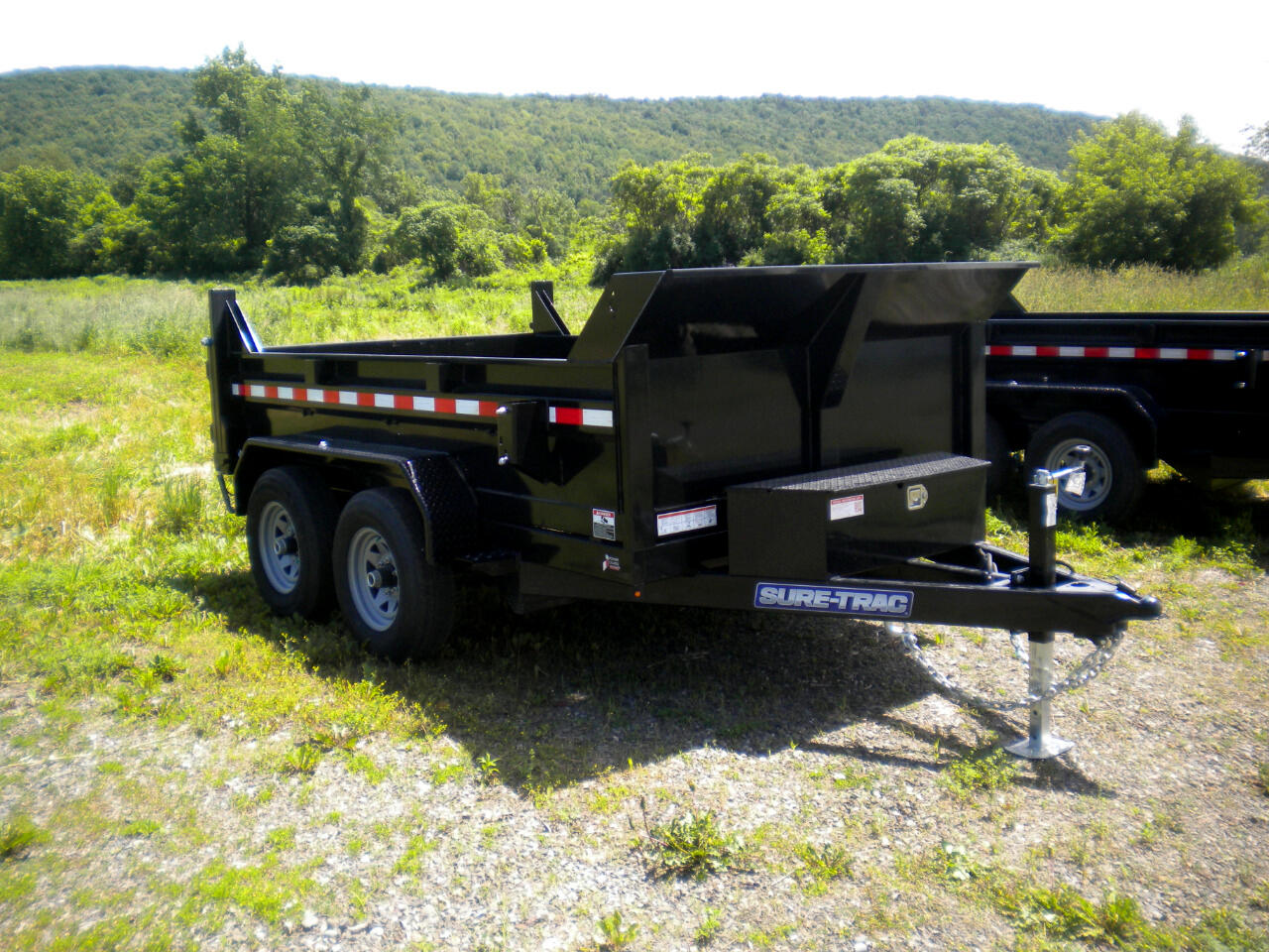 2019 Sure-Trac HD Low Profile Dump 6X10 SINGLE RAM WITH RAMPS   10K