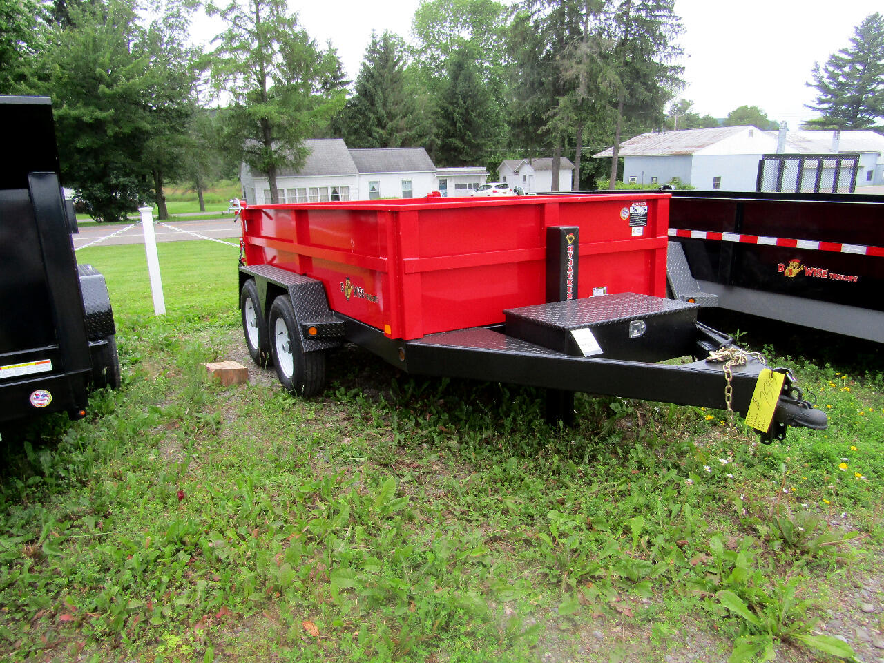 2019 BWise HD Dump Trailer DLP10-10 6X10 WITH HYDRAULIC JACK   10K