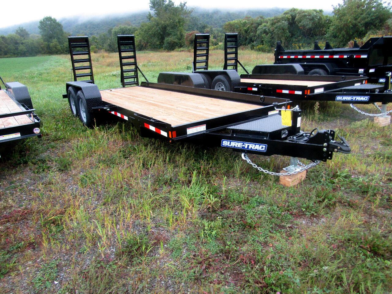 2020 Sure-Trac Skid Steer 7X14 SKID STEER EQUIPMENT TRAILER   14K