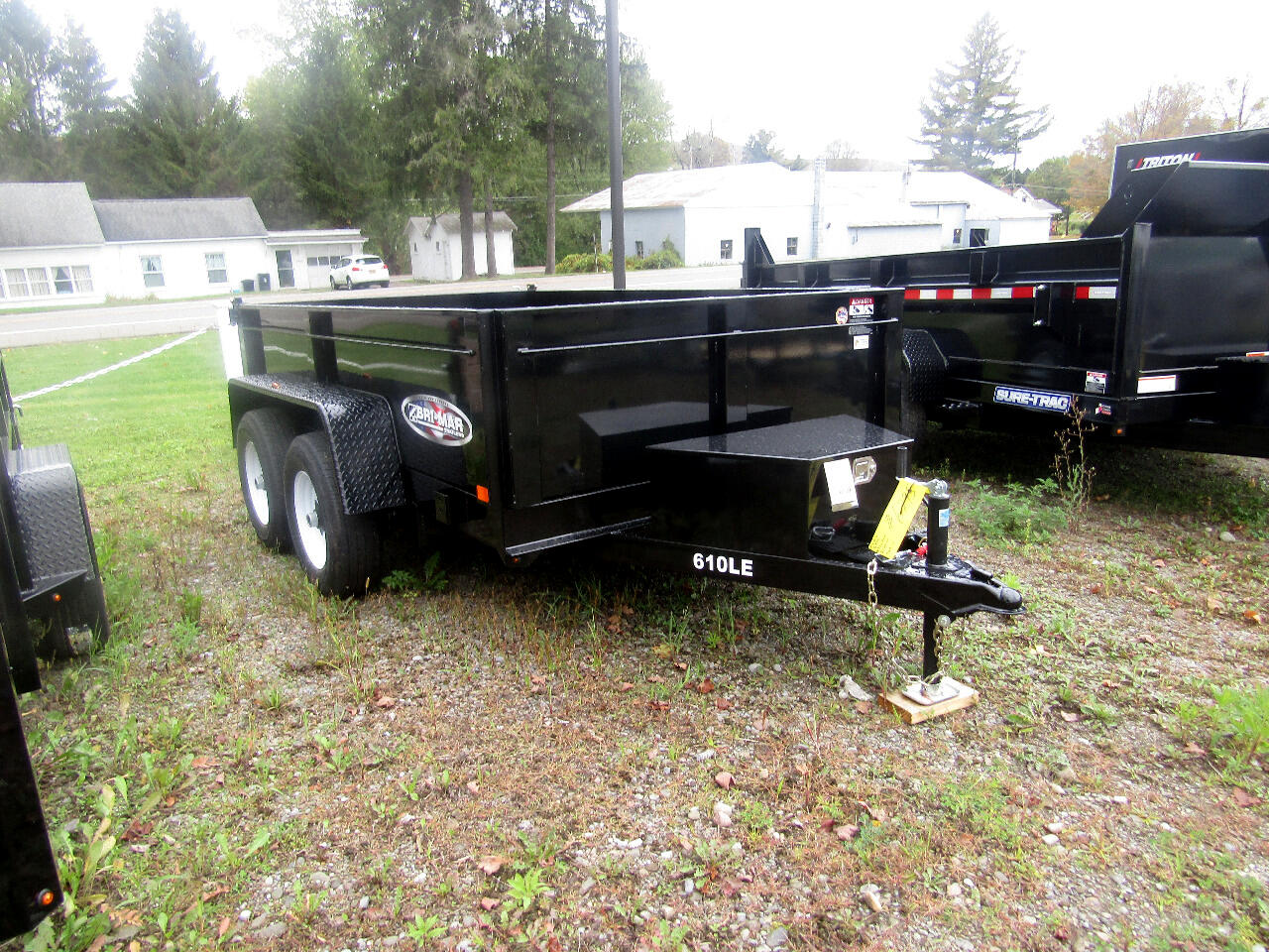 2020 Bri-Mar Low Profile Dump Trailer DT610LP-LE  6X10 DUMP WITH RAMPS   10K