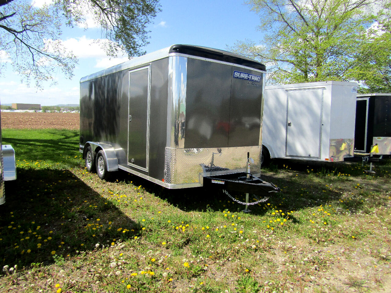 Sure-Trac STR Commercial Round Top Enclosed Cargo  2020