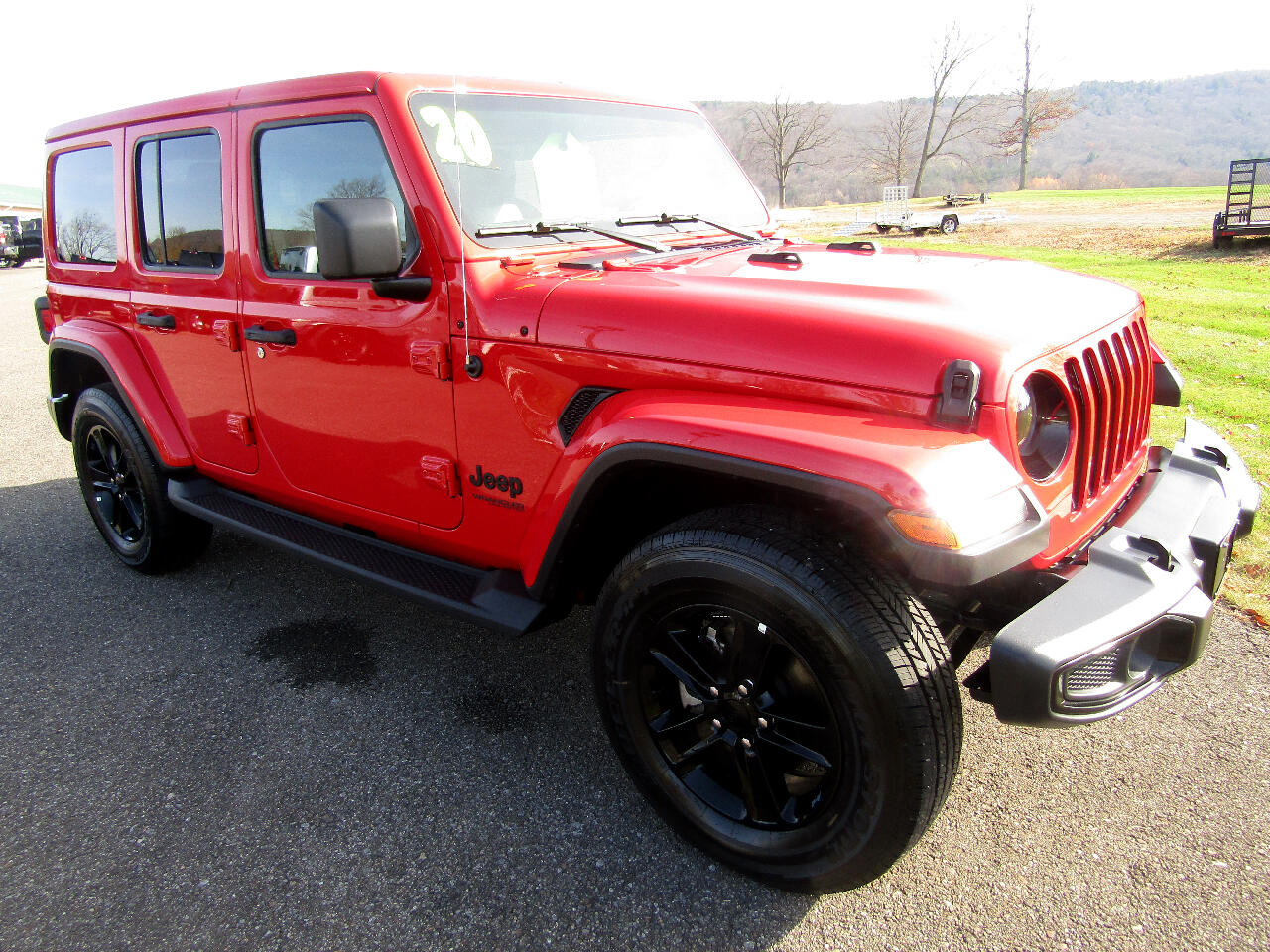 Used 2020 Jeep Wrangler Unlimited Sahara Altitude 4x4 For Sale In Norwich Ny 13815 North Norwich Motors Trailer Sales Llc