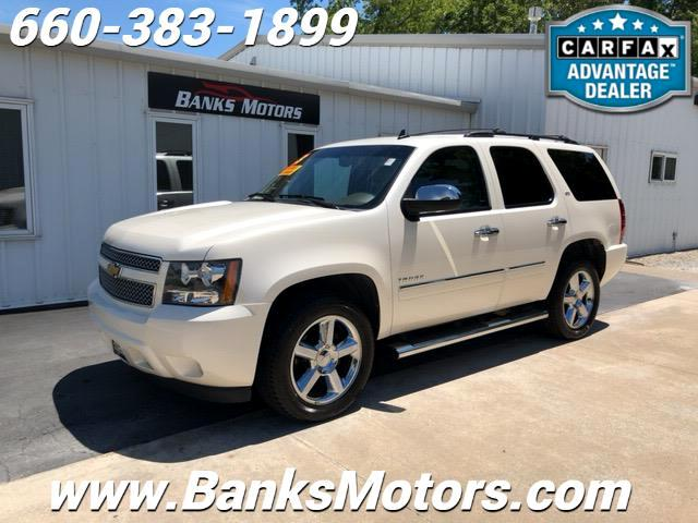 2013 Chevrolet Tahoe LTZ 4WD Heated Cooled Leather Seats Navigation DVD