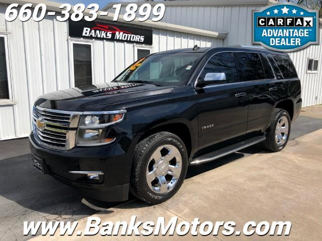 2015 Chevrolet Tahoe LTZ 4WD LOADED NAV SUNROOF HEATED LEATHER SEATS