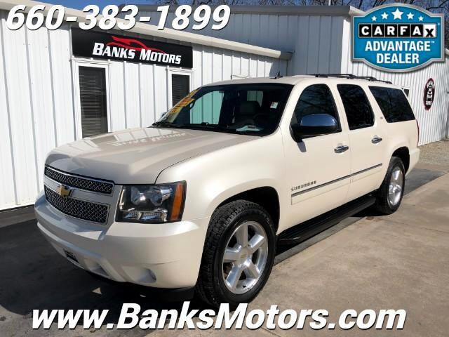 2013 Chevrolet Suburban LTZ 4WD Heated Cooled Leather DVD Nav