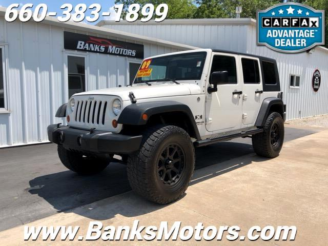 2009 Jeep Wrangler Lifted Unlimited X 4x4 Wrangler