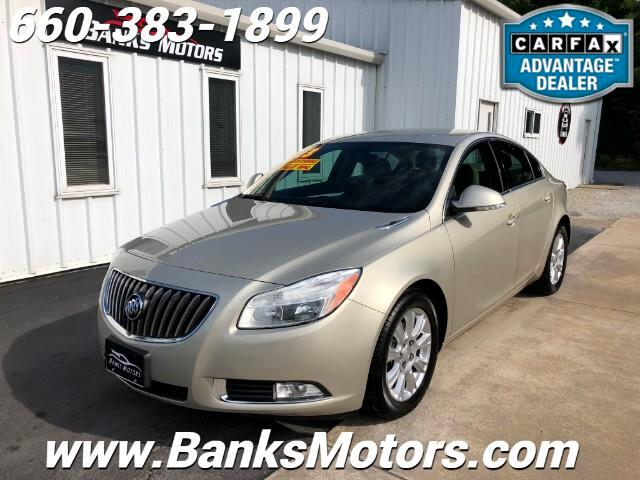 2013 Buick Regal 4dr Sdn FWD