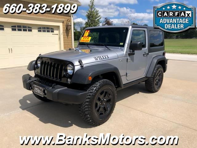 2016 Jeep Wrangler Willy's Wheeler 4WD