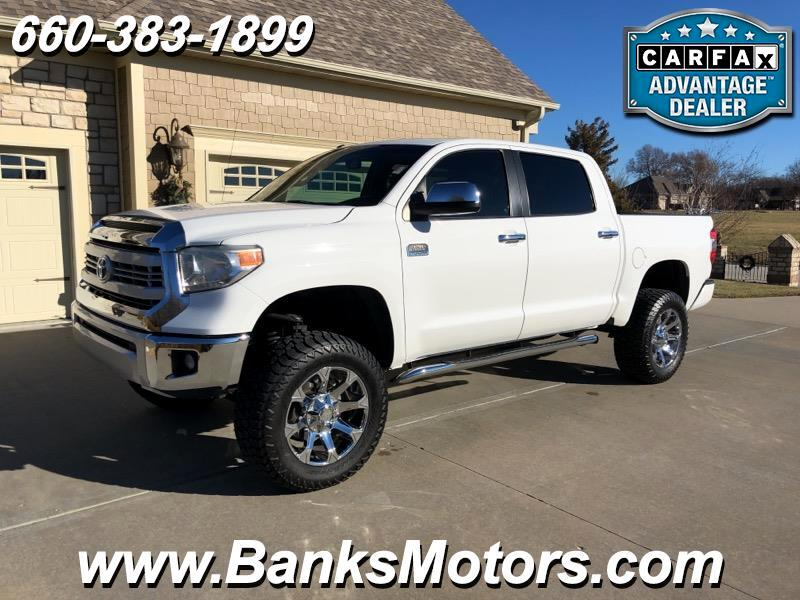 2014 Toyota Tundra Crew Max Lifted 1794 Edition 4WD