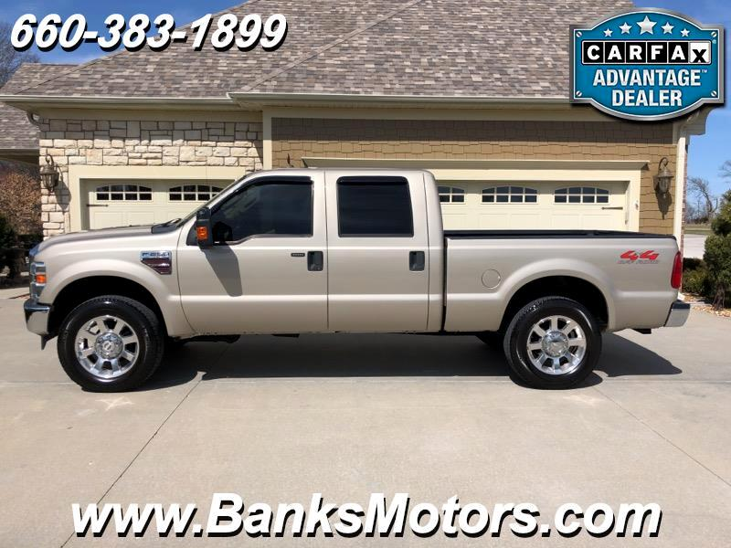 2008 Ford F-250 SD Lariat Super Crew 4WD Heated Leather Camera