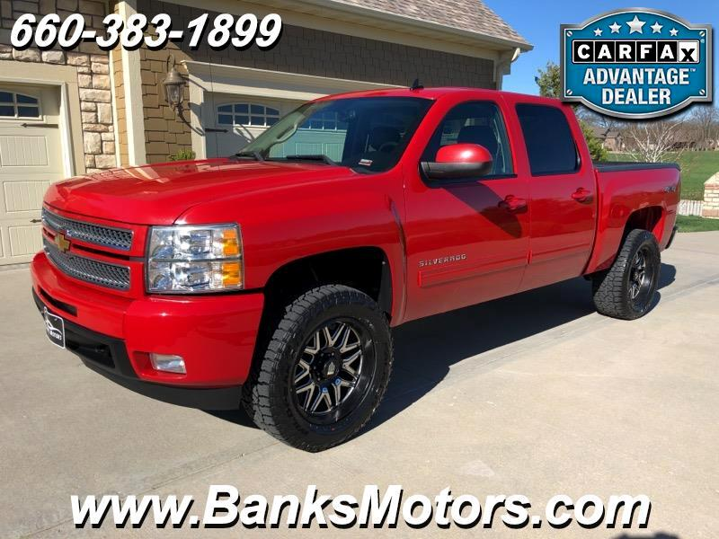 2012 Chevrolet Silverado 1500 LTZ Crew Cab LIFTED 4WD Heated Cooled Leather Bose
