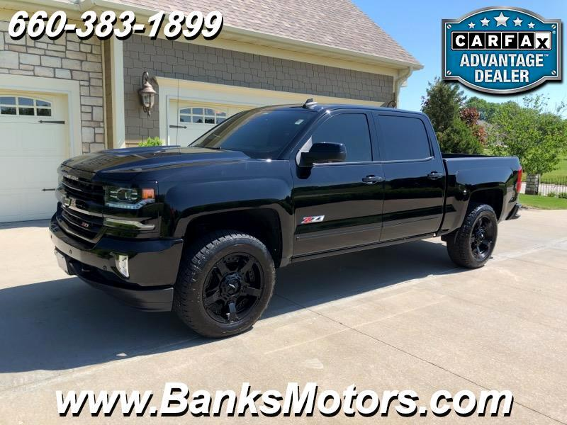 Chevy Midnight Edition >> Used 2017 Chevrolet Silverado 1500 Ltz Crew Cab 4wd Midnight