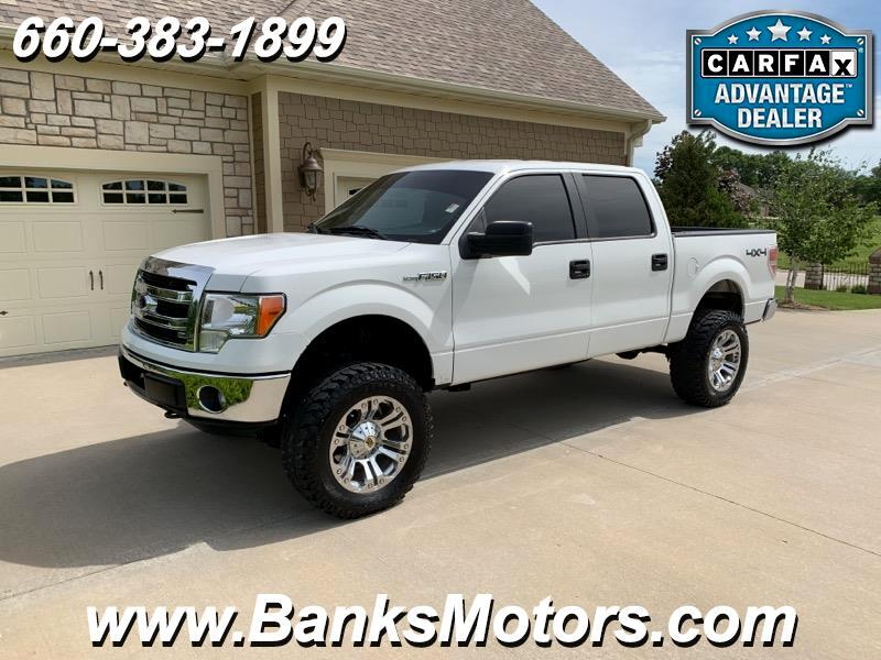 2013 Ford F-150 XLT Super Crew 4WD LIFTED
