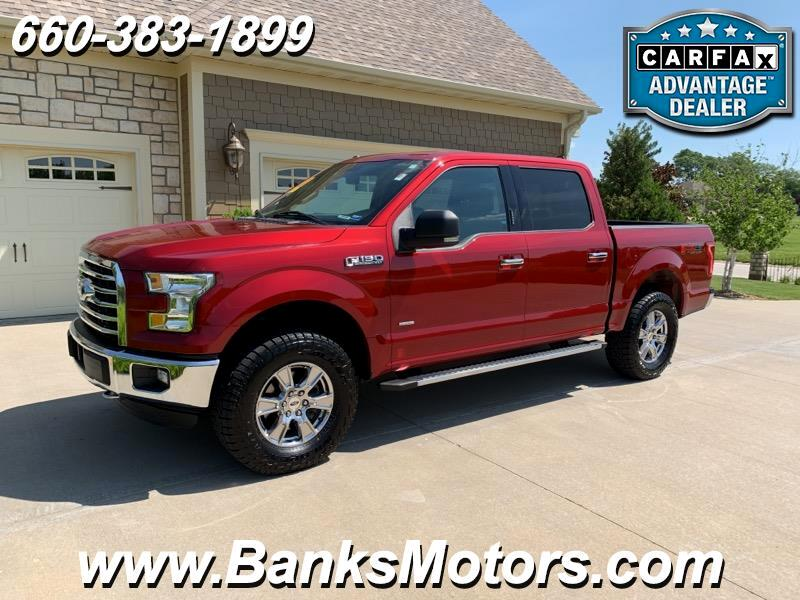 2015 Ford F-150 XLT Super Crew 4WD Heated Seats Backup Camera