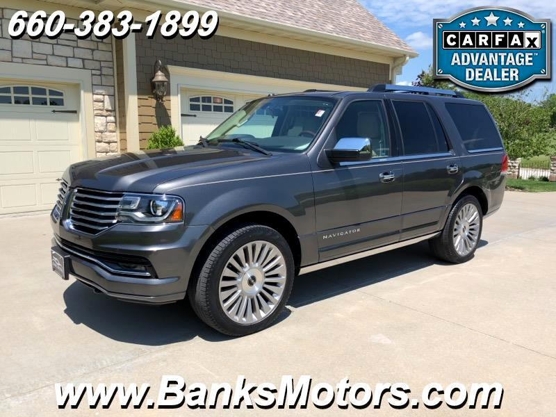 2015 Lincoln Navigator Reserve 4WD Heated Cooled Leather Nav Sunroof