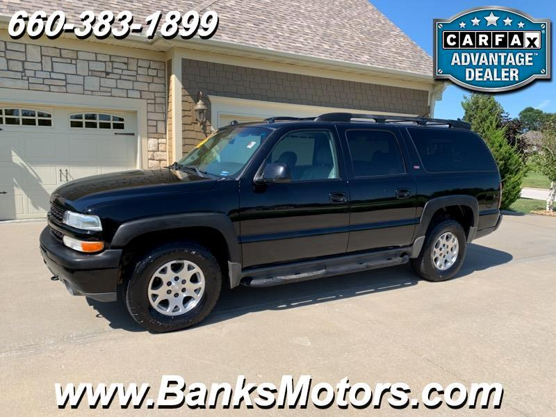 2005 Chevrolet Suburban Z71 4WD Heated Leather Sunroof DVD