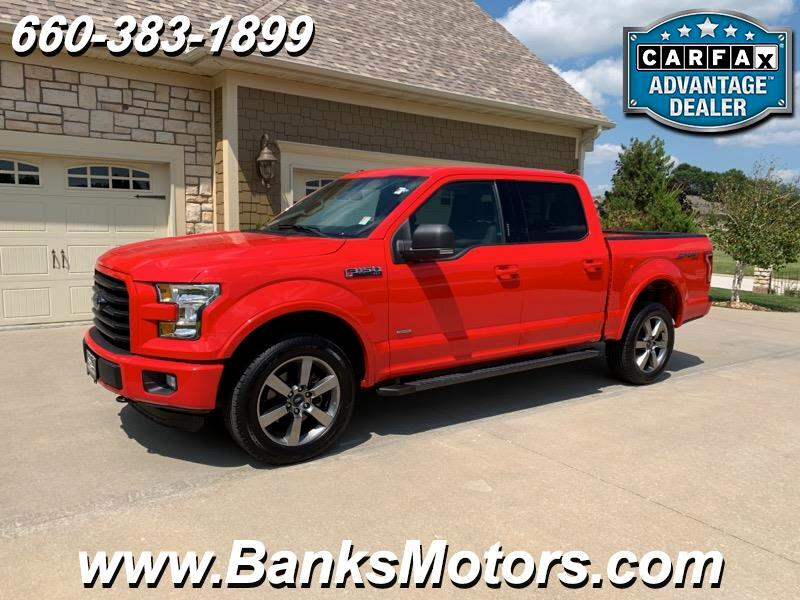2016 Ford F-150 Super Crew 4WD Sport Heated Seats Camera