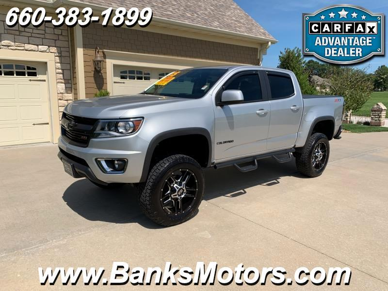 "2015 Chevrolet Colorado Z71 Crew Cab 4WD 6"" Lift Navigation Remote Start"