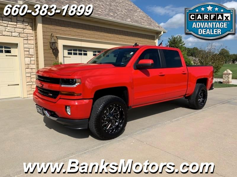 2017 Chevrolet Silverado 1500 LT Crew Cab Z71 4WD Camera Remote Start