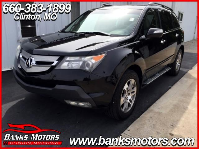 2008 Acura MDX Sunroof Heated Leather Seats Bluetooth