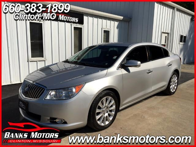2013 Buick LaCrosse Heated Leather Seats Bluetooth Camera