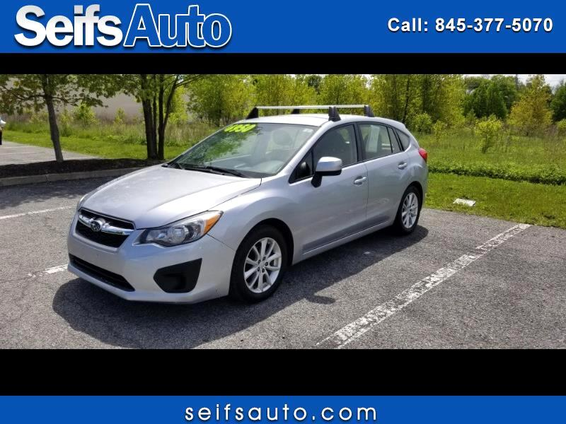 Subaru Impreza 2.0i Premium 5-Door w/All Weather Package 2014