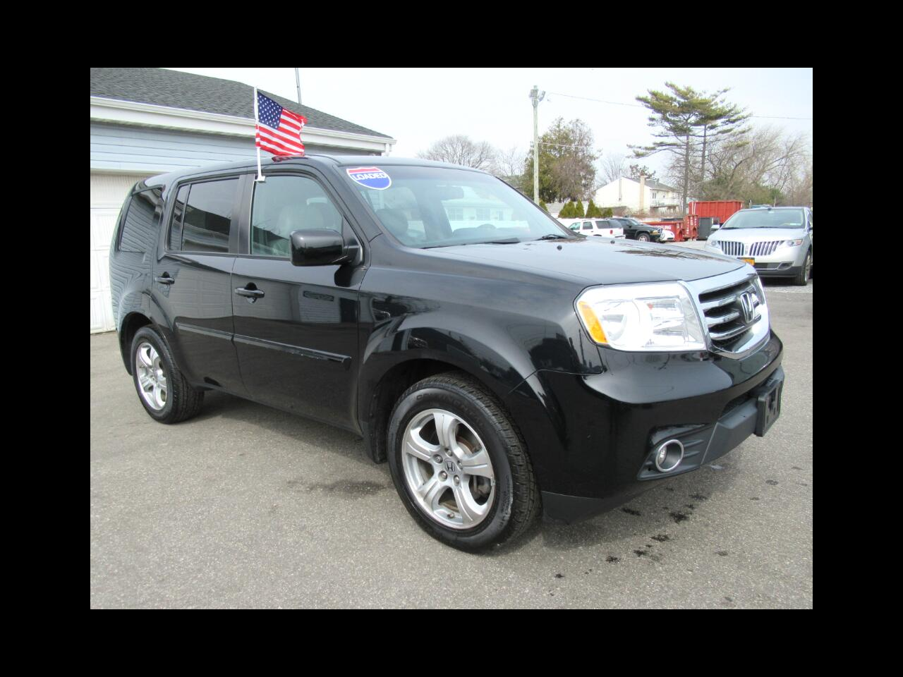 2015 Honda Pilot EX-L 4WD 5-Spd AT with DVD