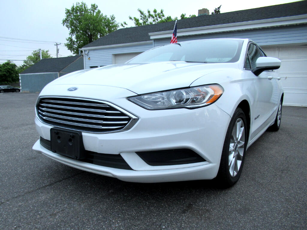 2017 Ford Fusion 4dr Sdn Hybrid FWD