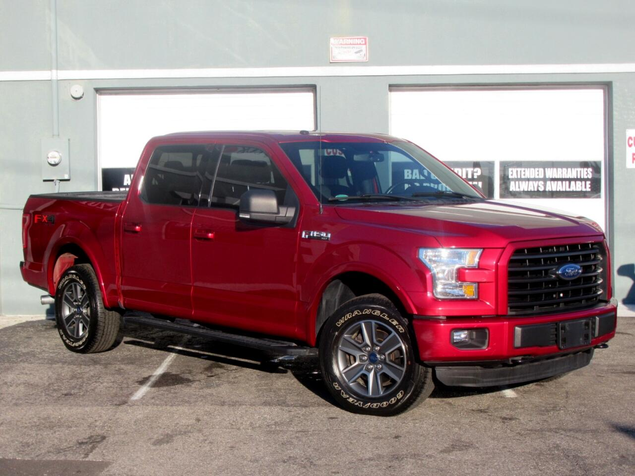 """2016 Ford F-150 4WD SuperCrew 145"""" King Ranch"""