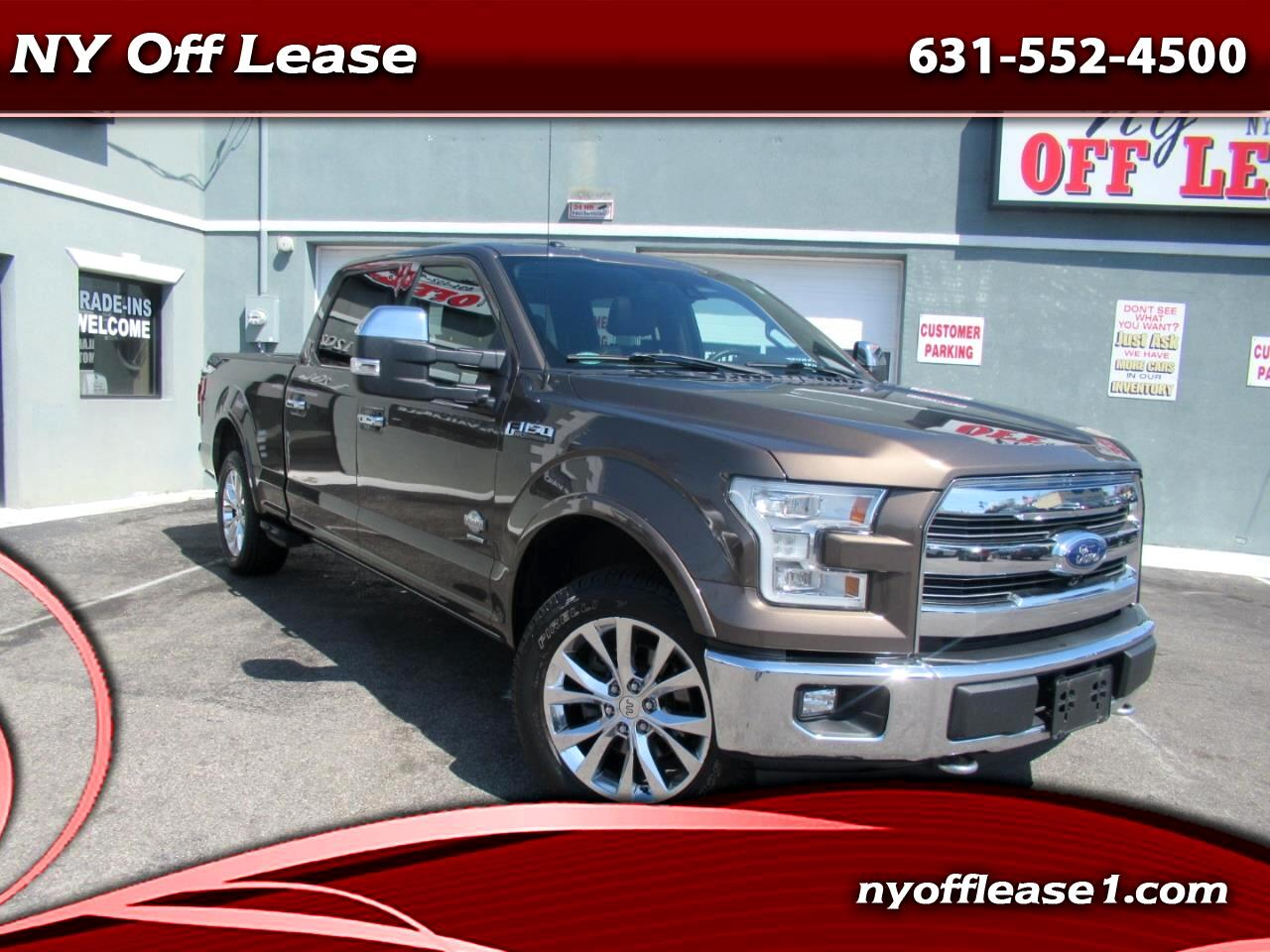 "2015 Ford F-150 4WD SuperCrew 157"" King Ranch"