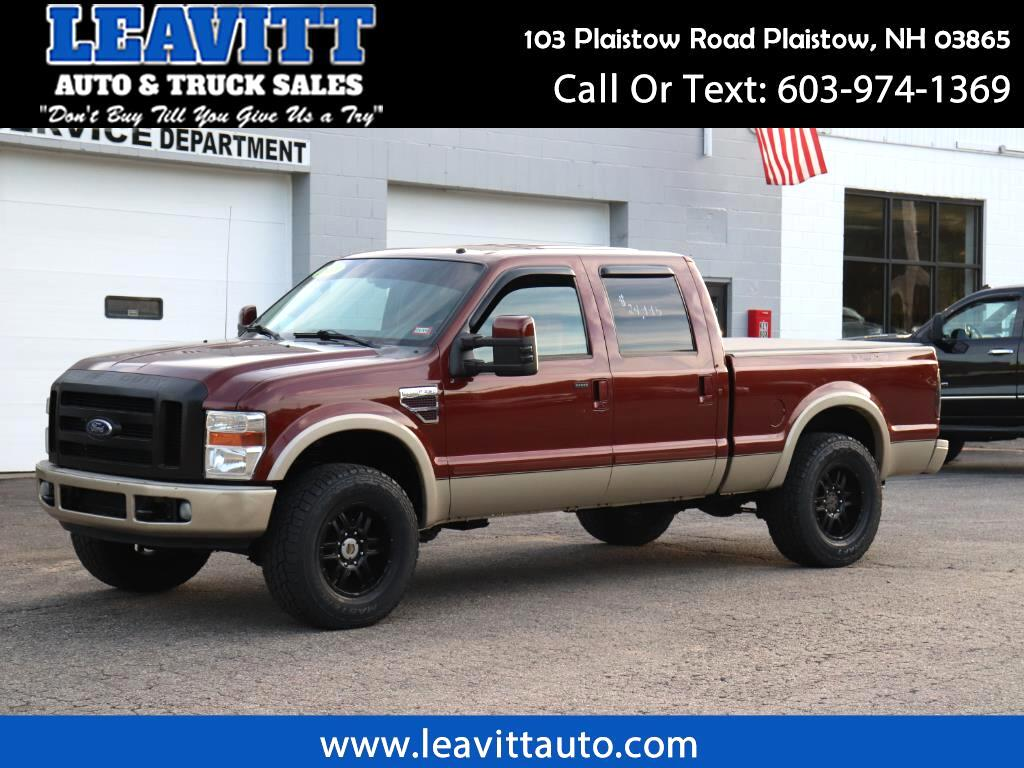 2008 Ford F-250 SD KING RANCH CREW CAB ARP STUDS!!