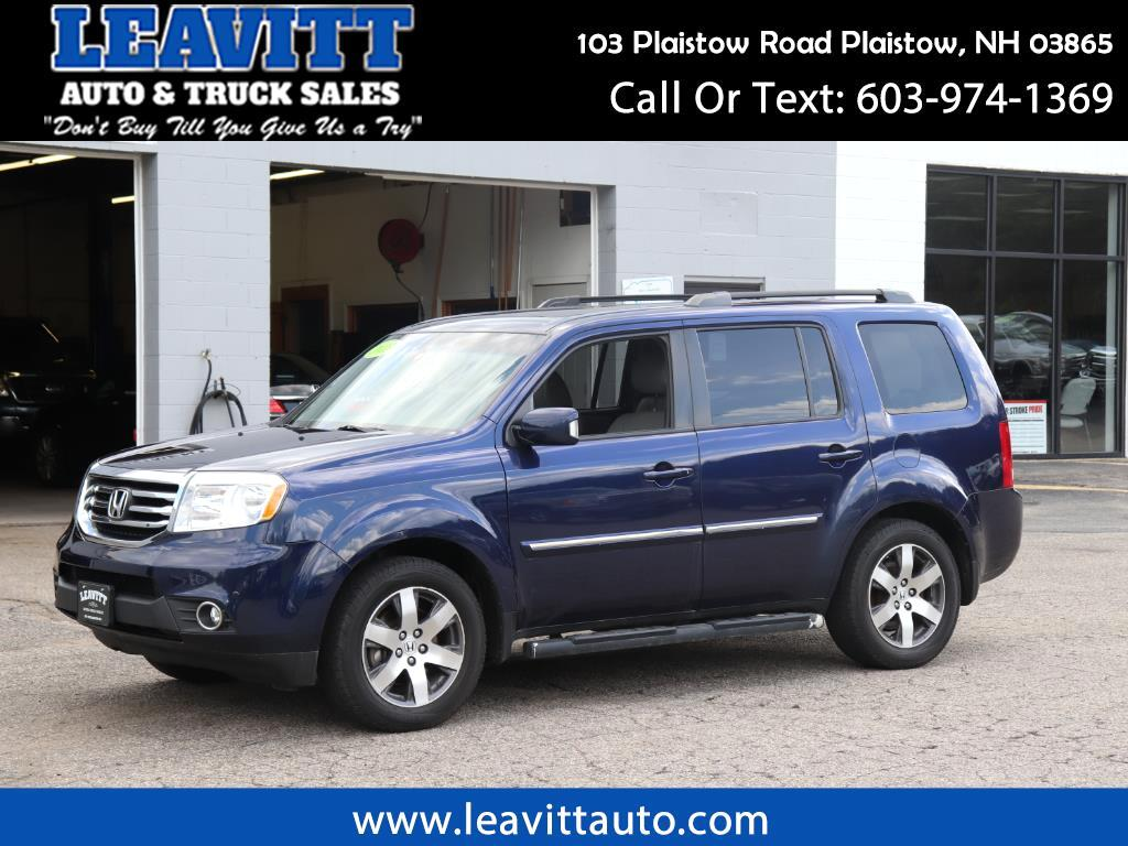 2013 Honda Pilot TOURING AWD ONE OWNER LOADED!!