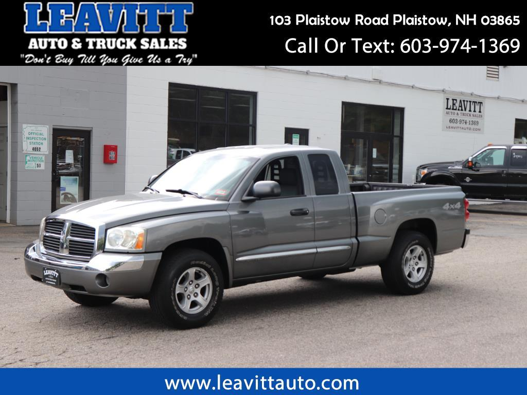 2006 Dodge Dakota LARAMIE CLUB CAB 4X4 OWNER OWNER 76K MILES!!!