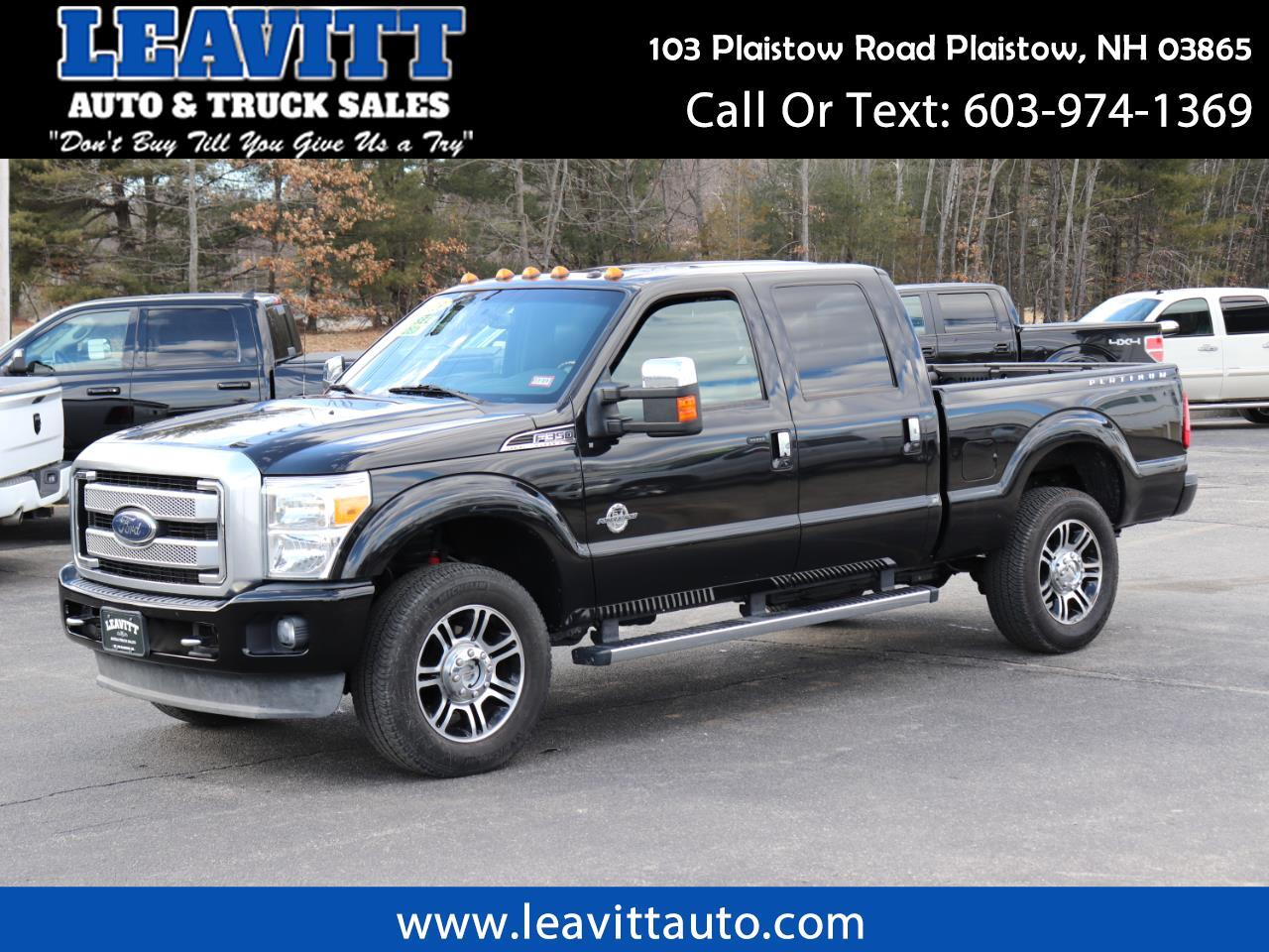 2013 Ford F-350 SD Platinum