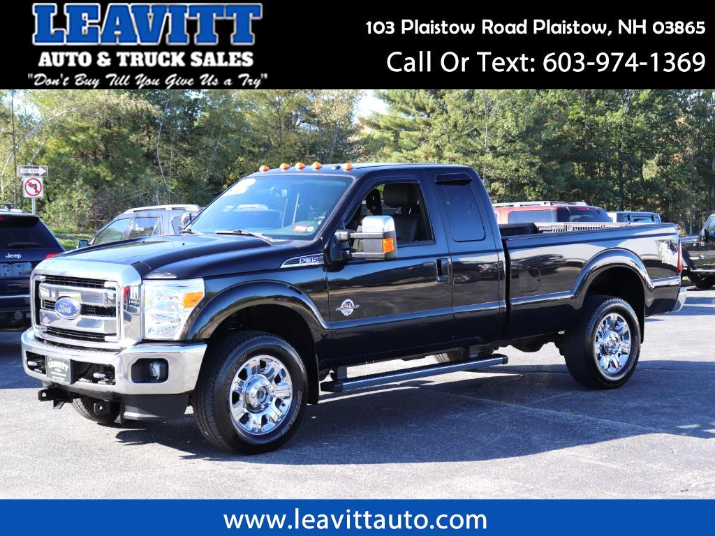 2012 Ford F-350 SD LARIAT SUPERCAB LONG BED 4X4 6.7L POWERSTROKE DIES