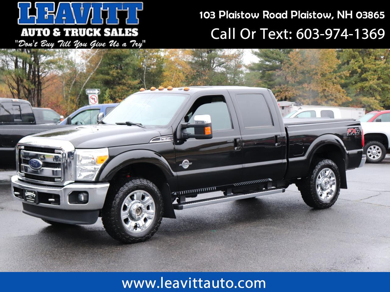 2014 Ford F-350 SD LARIAT CREW CAB 6.7L POWERSTROKE DIESEL LOADED!!!