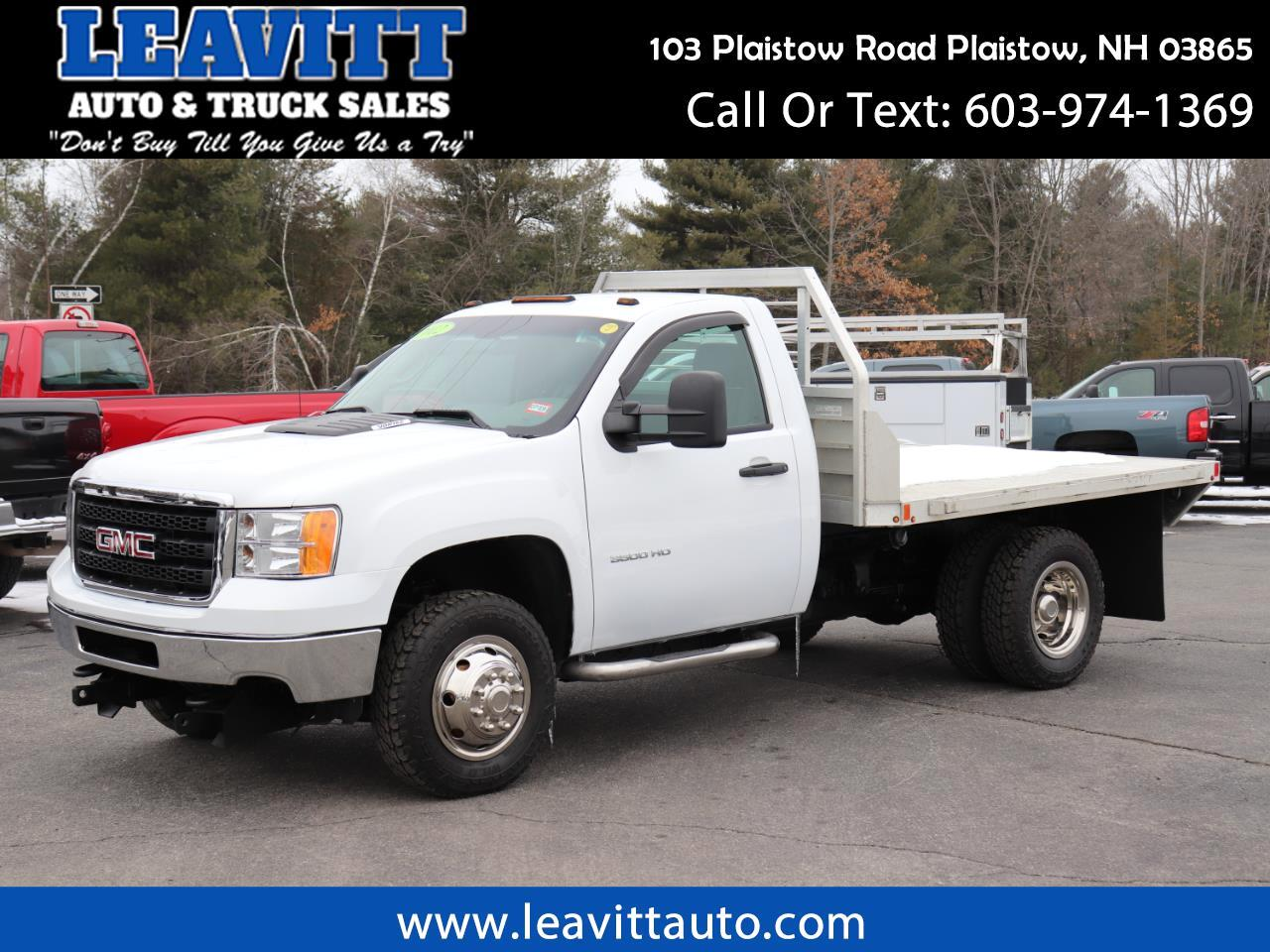 2012 GMC Sierra 3500HD DUALLY FLAT BED 37K MILES!!