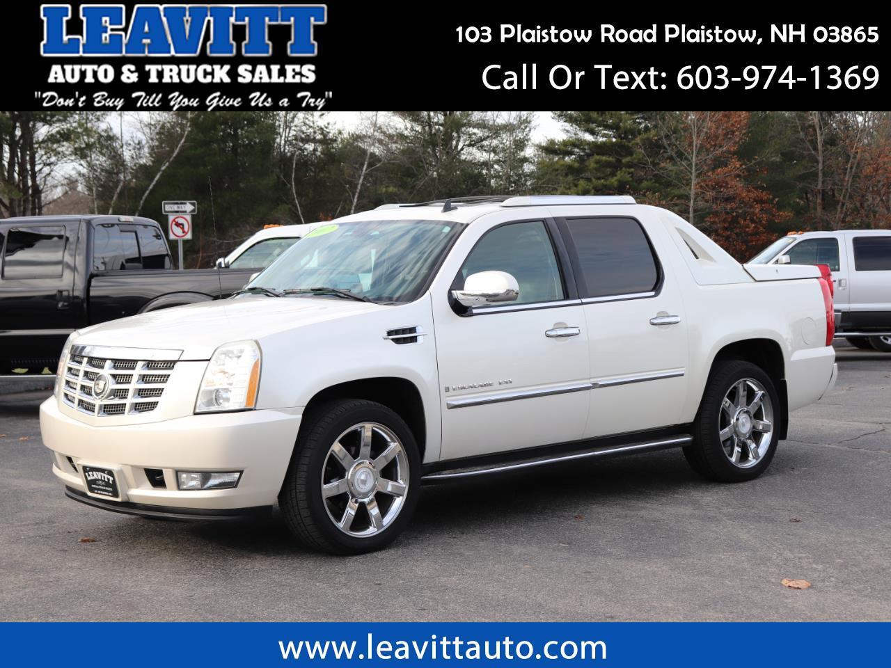 2007 Cadillac Escalade EXT LOADED