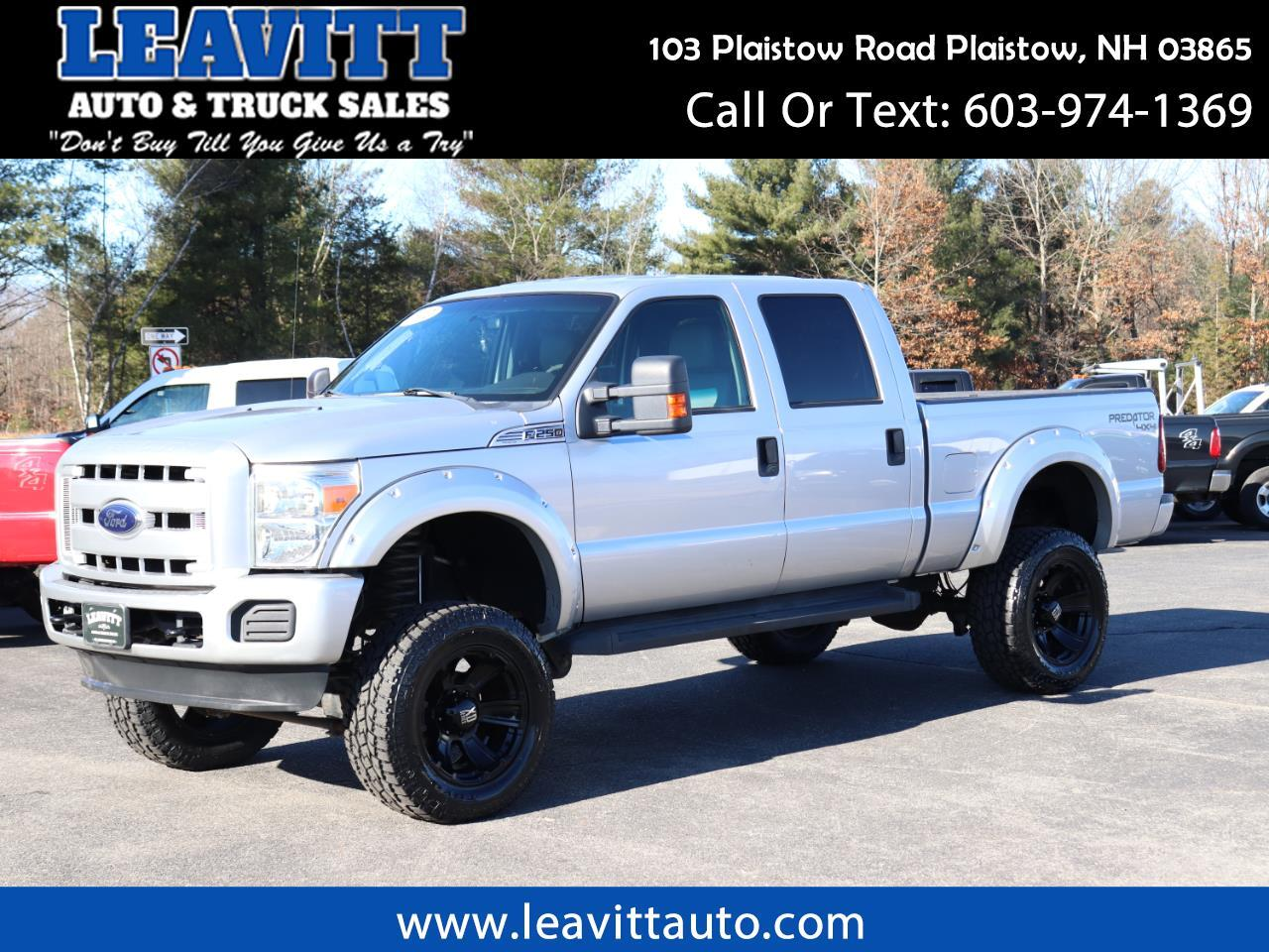 2012 Ford F-250 SD XLT CREW CAB 6.2L LIFTED