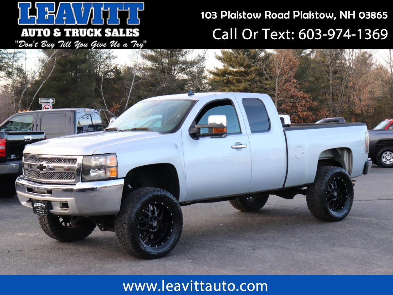 2013 Chevrolet Silverado 1500 LT EXTENDED CAB LIFTED 66K MILES!!
