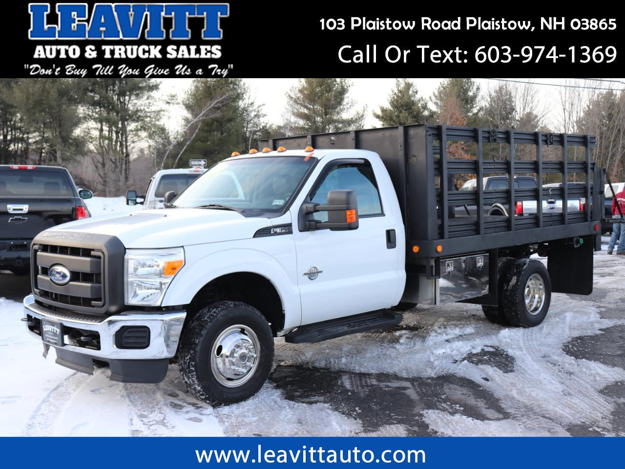 2011 Ford F-350 SD XL 4X4 RACK BODY 6.7L POWERSTROKE DIESEL