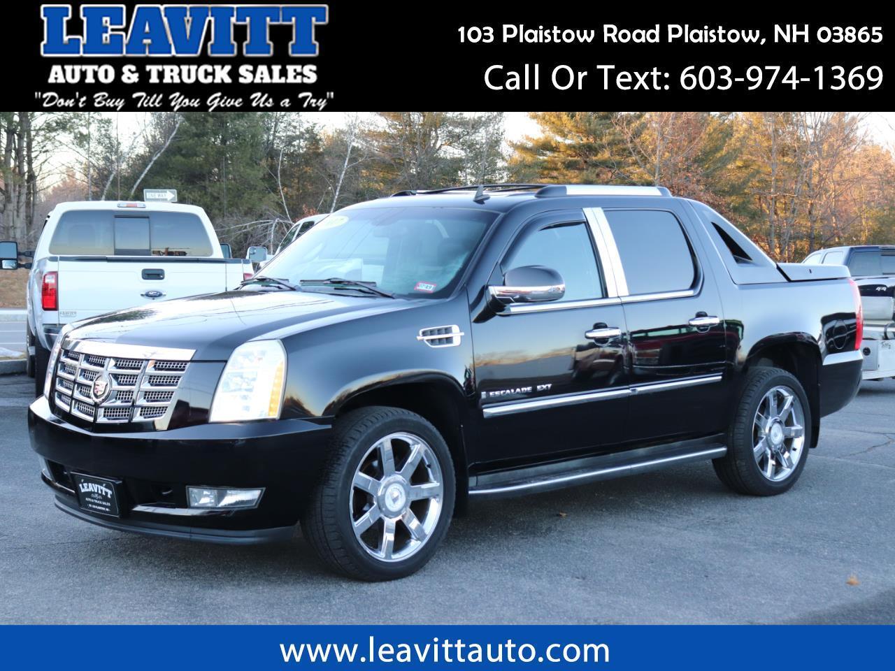 2007 Cadillac Escalade EXT BLACK ON BLACK LOADED