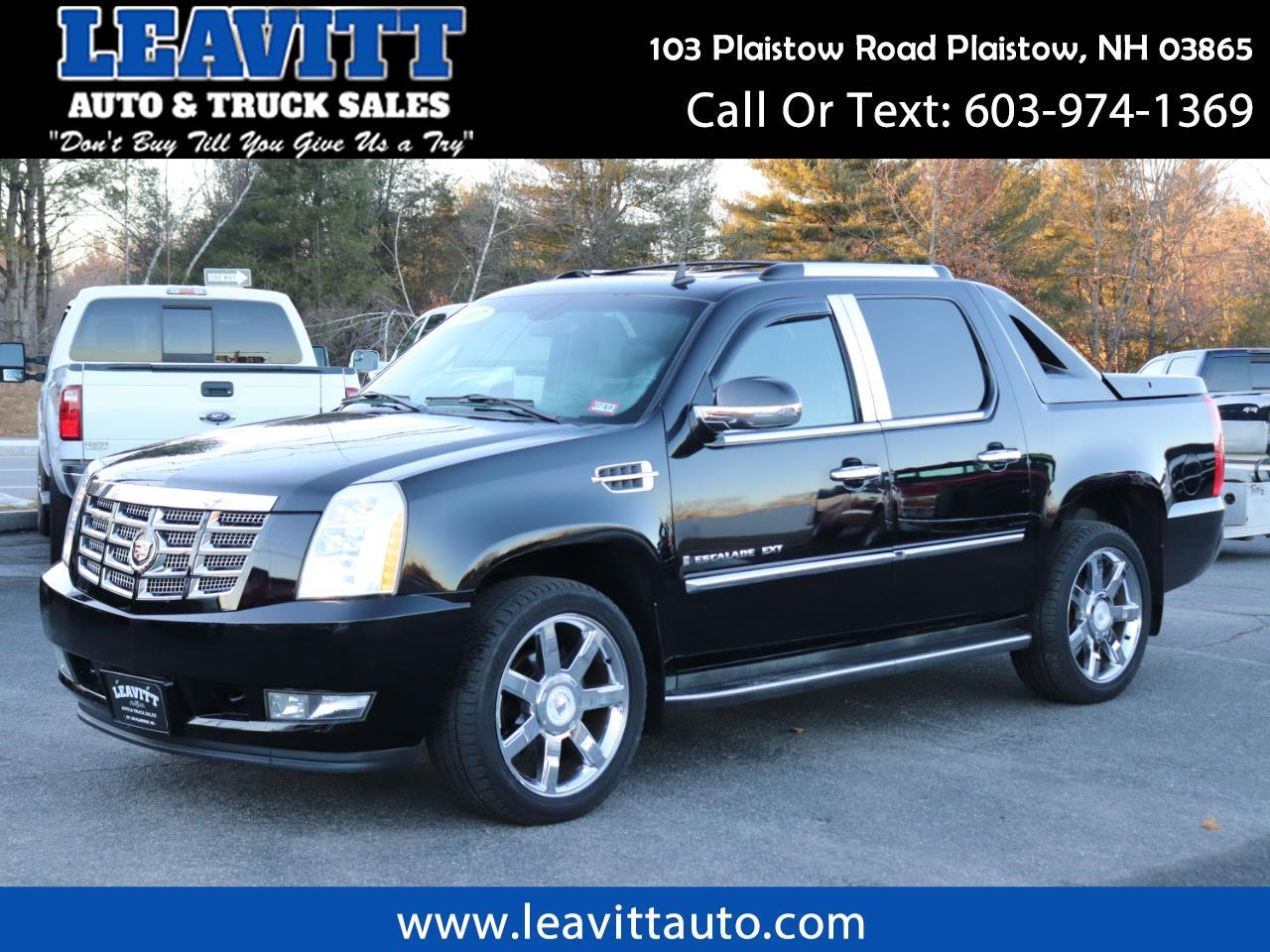 2007 Cadillac Escalade EXT BLACK ON BLACK LOADED