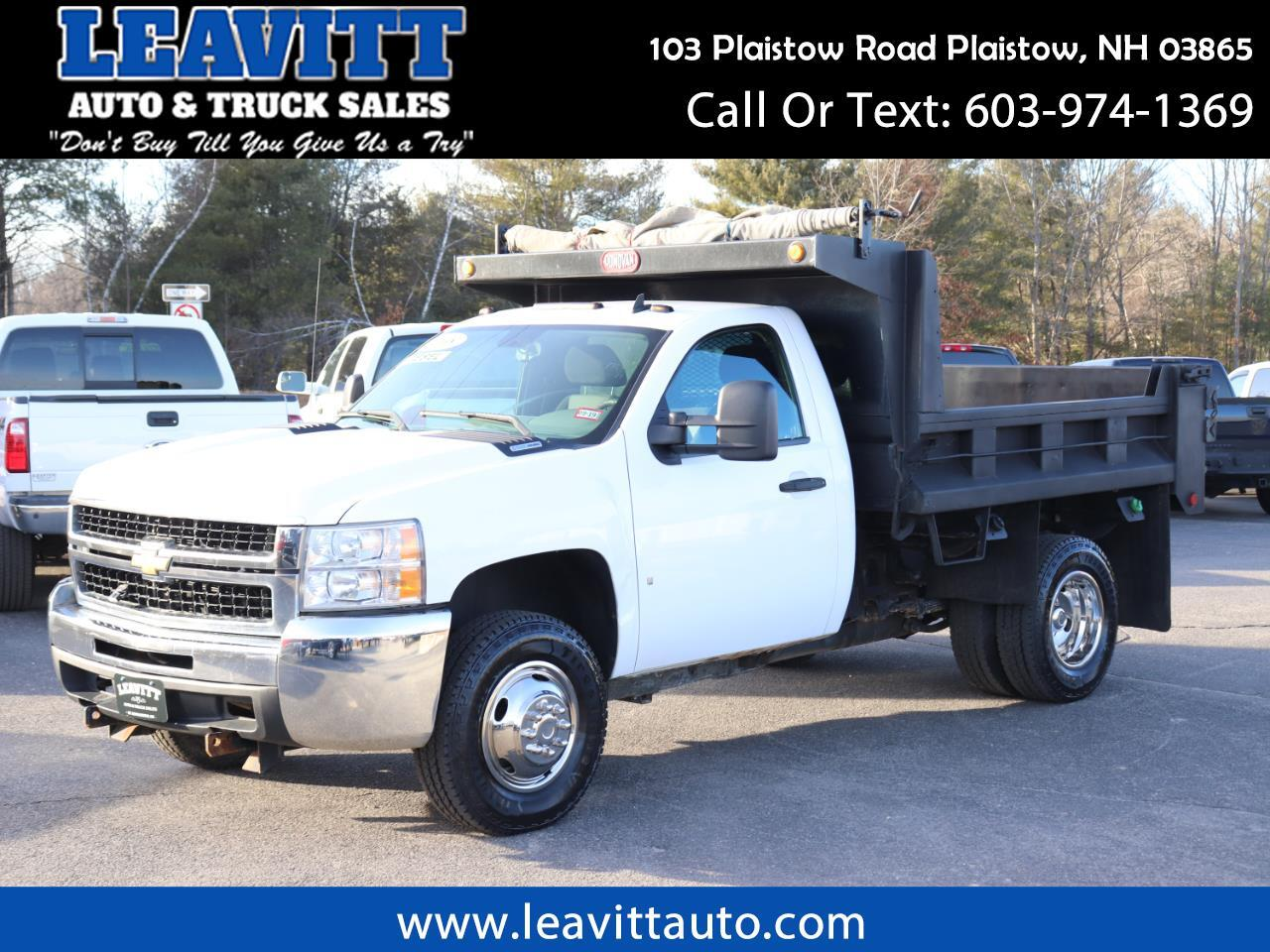 2008 Chevrolet Silverado 3500HD LT DUMP BODY 4X4