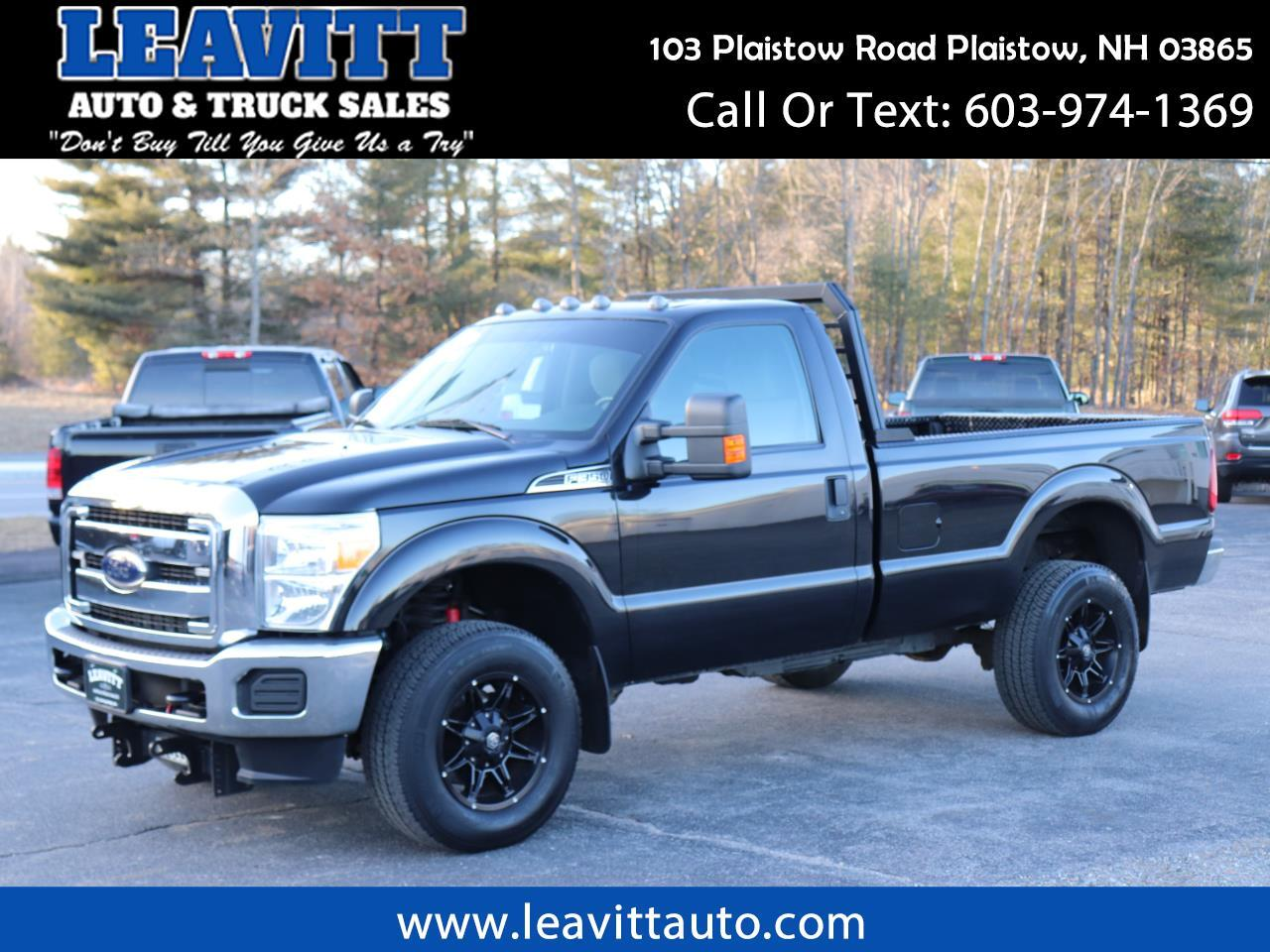2012 Ford F-350 SD XLT REGULAR CAB 6.7L POWERSTROKE DIESEL