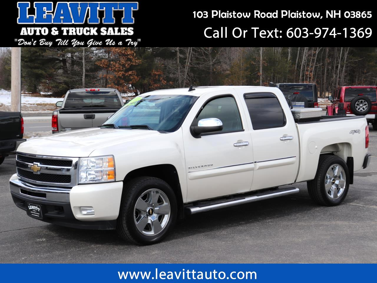 2011 Chevrolet Silverado 1500 LT CREW CAB 4X4 LEATHER