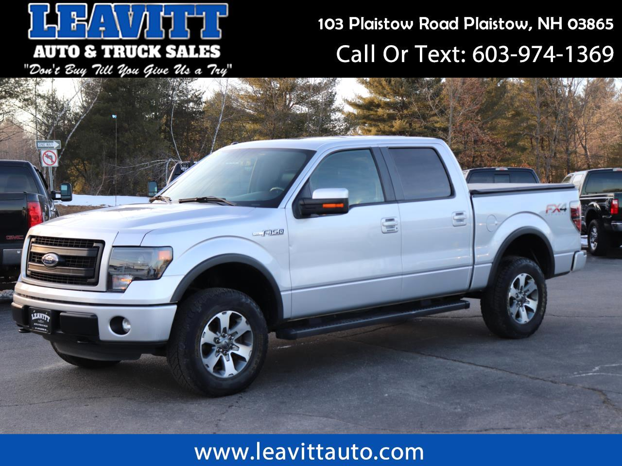 2014 Ford F-150 FX4 SUPERCREW 4X4 62K MILES!!