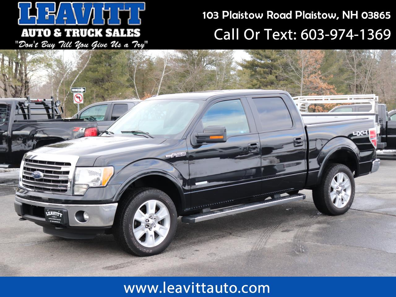 2013 Ford F-150 LARIAT SUPERCREW 4X4 LOADED